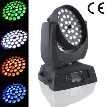Cheap Zoom moving head wash light 36x15w led moving head wash light 6 in 1