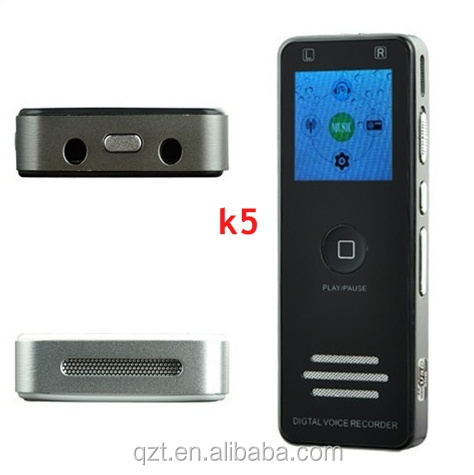 Mini Portable Professional Telephone Voice Recorder with FM MP3 Player Digital Voice Recorder