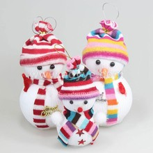 Delicate christmas tree decoration outdoor small doll gifts lovely bubble snowman