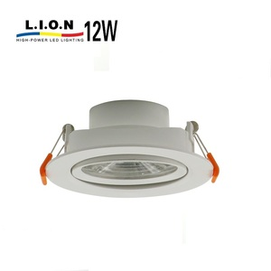 Zhongshan lighting decorative aluminum surface ceiling led downlight 12w