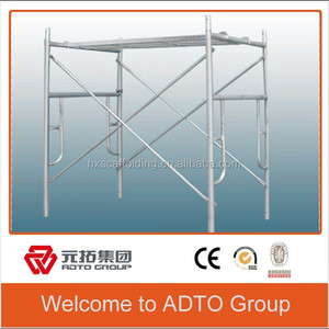 Safety & Flexibility Pre-galvanized Scaffolding System China