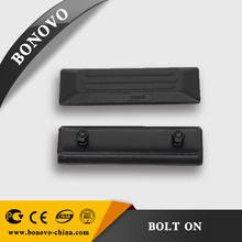 Excavator rubber track shoe pads 230*70*60 good quality