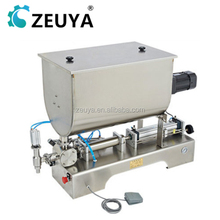 Good Quality Automatic semi automatic soybean milk filling machine With Stiring G1WGU