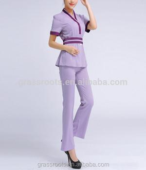 Guangzhou fashion design salon women manufacture spa for Baju uniform spa