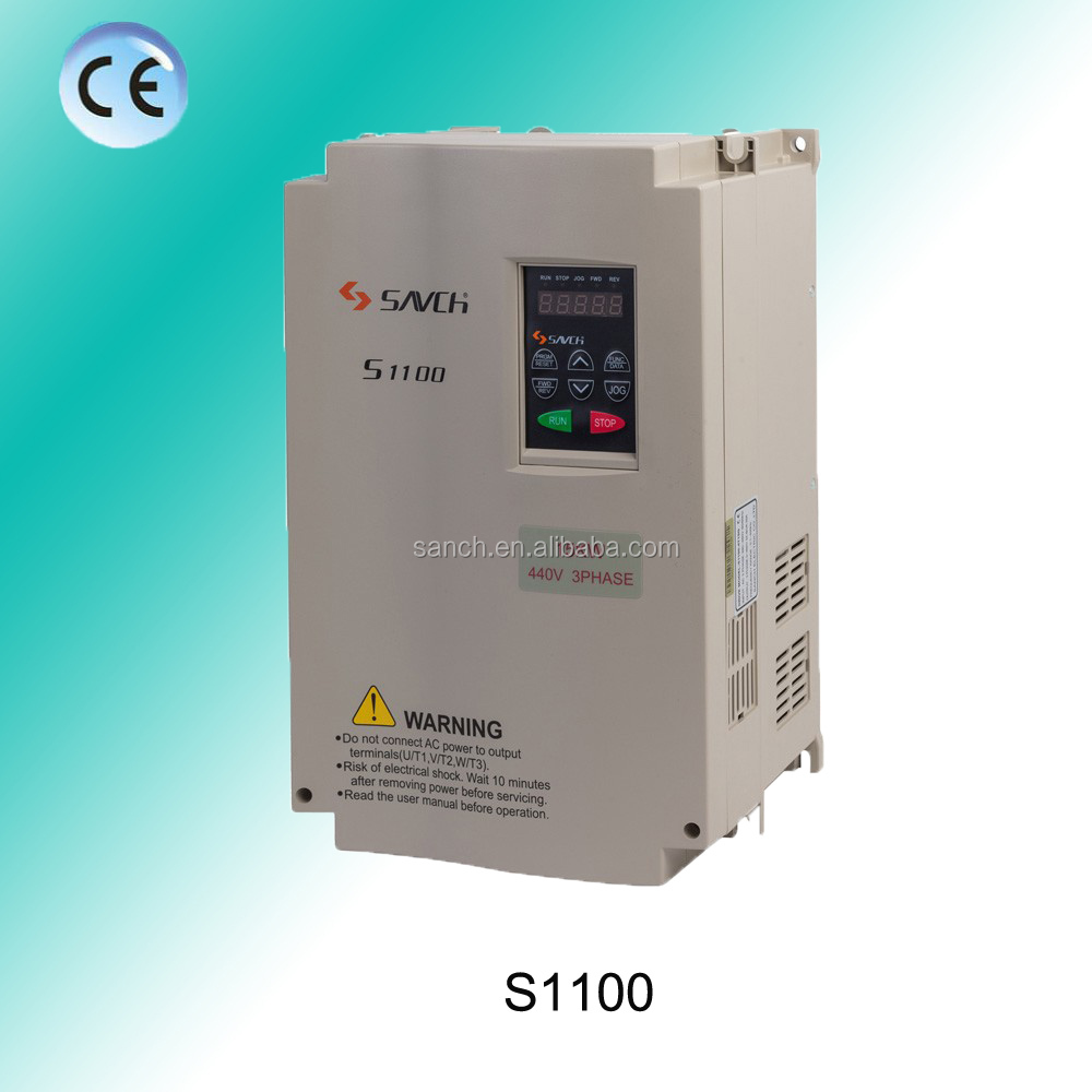 S1100 0.75-22kw V/F Control Frequency Converter AFD VSD For General Purpose