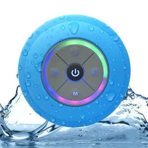 Waterproof Outdoor Speaker Portable Wireless speaker Shower Bicycle Speakers With Suction Cup