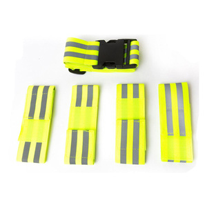 Exercise running elastic reflective arm band for sports