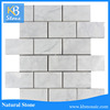 Factory Supply Indoor Decoration Stone Mosaic carrara marble tile