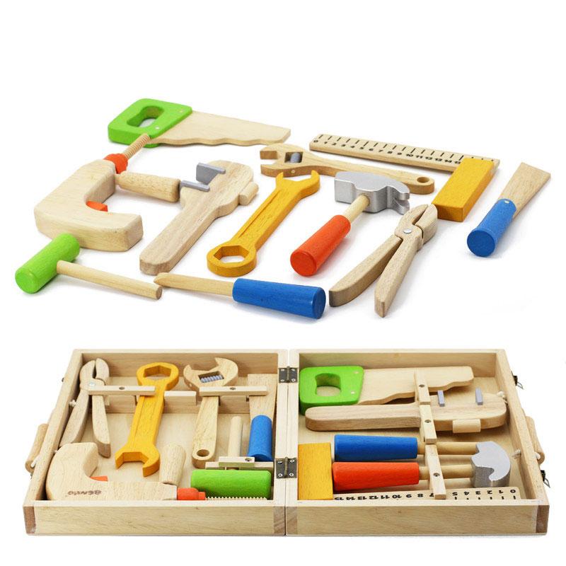 Portuguese Learning Toys : Ferramenta de alta qualidade madeira brinquedos