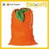 China top quality durable custom orange clothing packaging bag