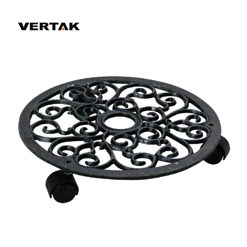 VERTAK large-scale professional cast iron stand for flower pot tolly