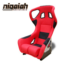 Brand New Hot Selling Design Racing style Universal Carbon fiber Bucket seat--RAI