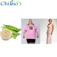 Top Quality 95% Bulk Manufacturer Fermented Pea Protein Powder Isolate for Losing Weight