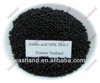 Formulating fertilizers amino acid npk 16-0-1
