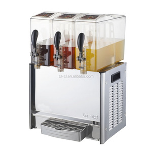Commercial Equipment 3 Tanks Cold Soda Beverage Dispenser electric juice dispenser