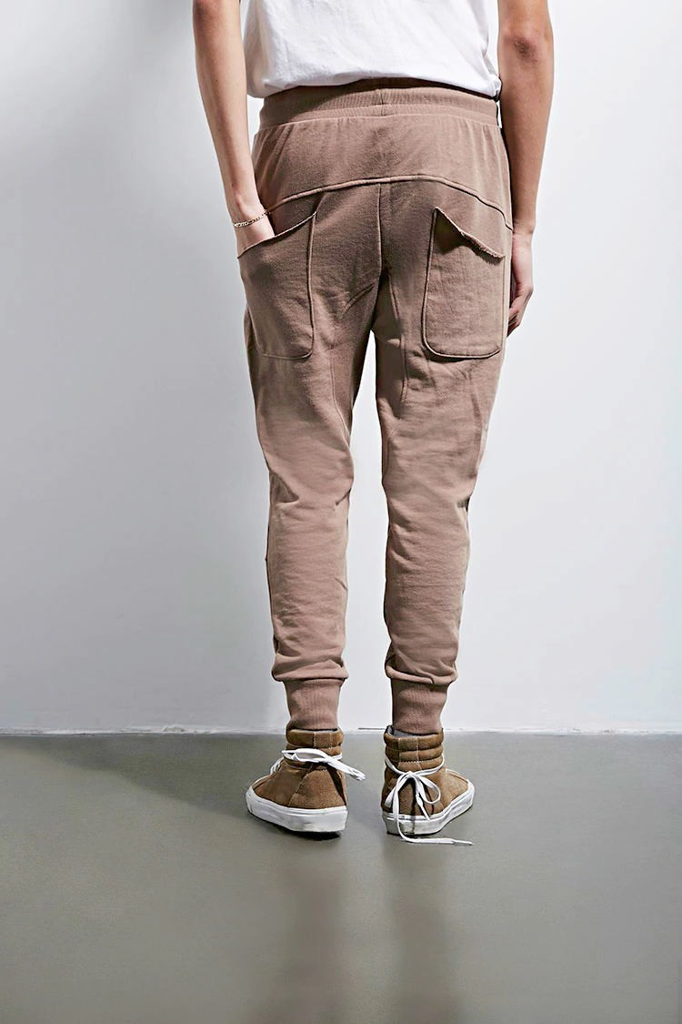 Custom Design Men's Casual Trousers High Quality Mens Distressed Joggers