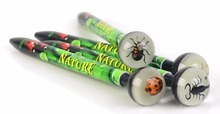 novel REAL insect gift ball pen plastic for school boys