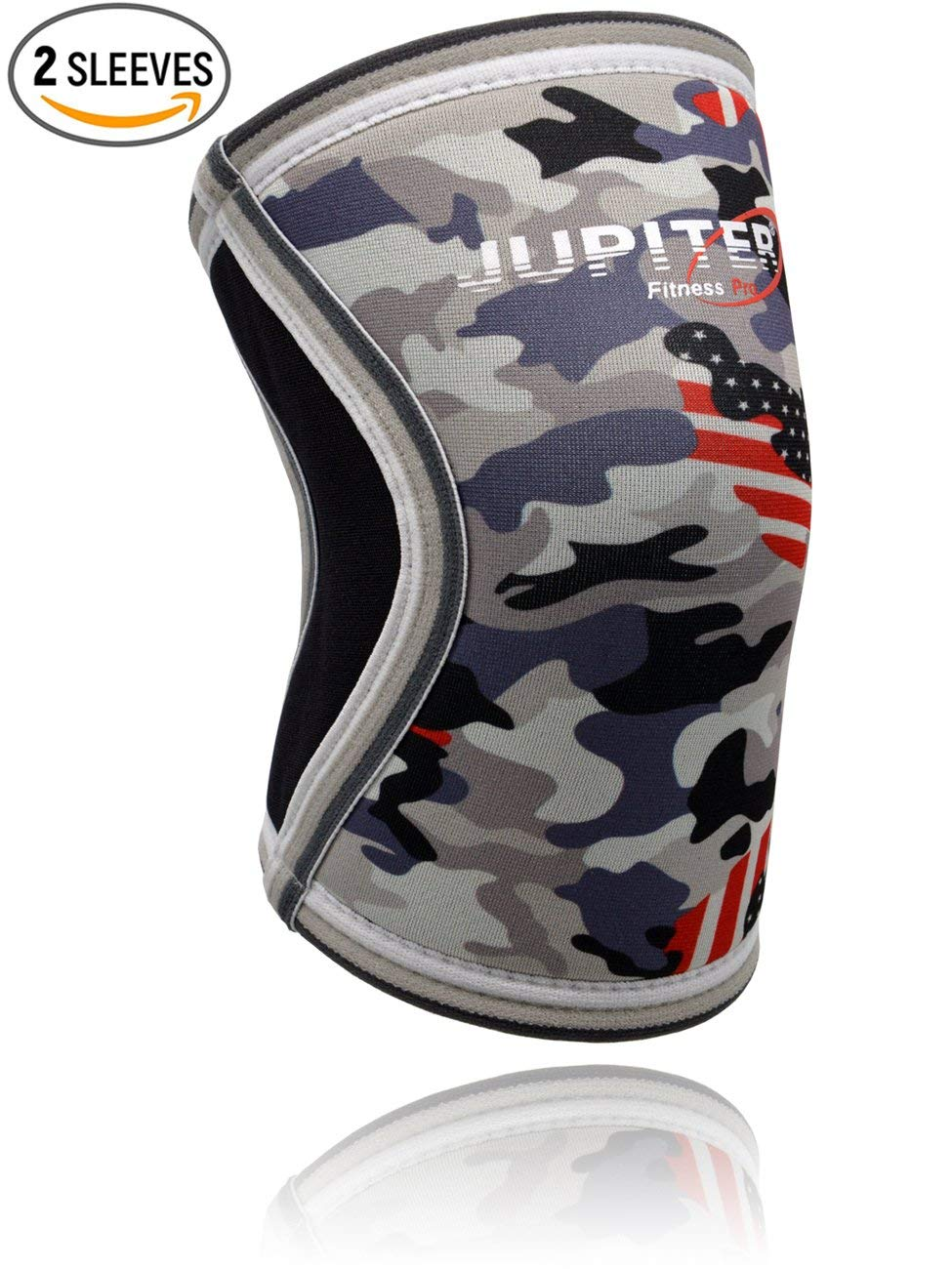 9e47ff4fbd Get Quotations · Elbow Sleeves (1 Pair) Support & Compression for  Weightlifting, Powerlifting, Crossfit,