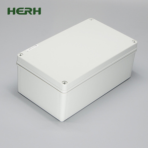 IP65 ABS Hinged Waterproof Project Plastic Electronic Enclosure / Waterproof Box