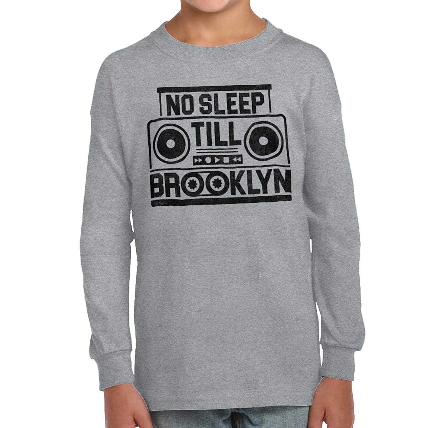 42857c1c5 Get Quotations · No Sleep Till Brooklyn Beastie Boys Music Gifts Funny  Quote Youth Long Sleeve T Shirt