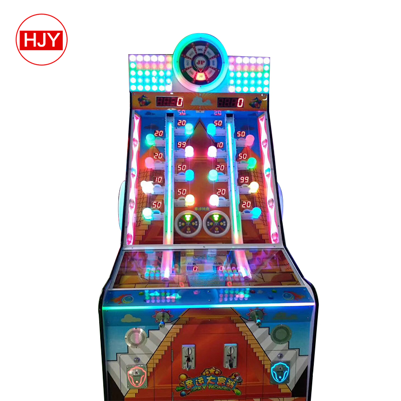 Monopoly lucky coin pusher Casino slot game elektronische roulette gokken machine