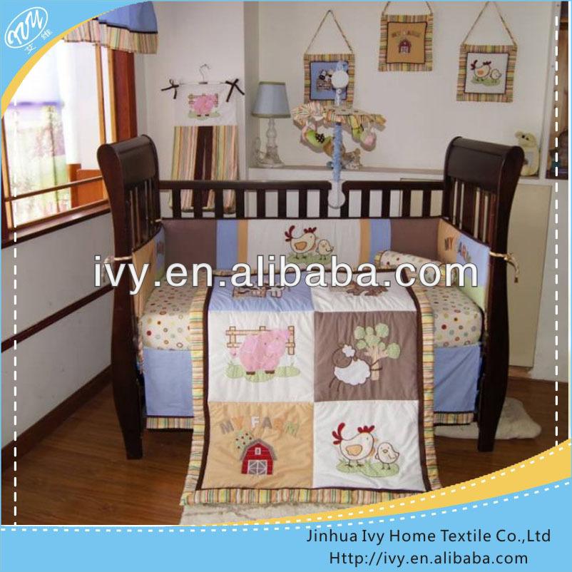 bordadoras ovejas cuna ropa de cama bebe set