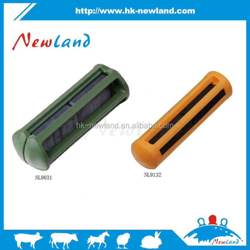 2016 NL913 best sell veterinary products with plastic cage 100*25mm cattle rumen magnet