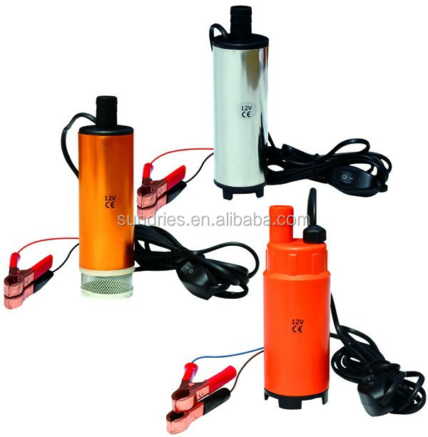 DC 12/24V Submersible Diesel Fuel Oil Water Transfer Pump / Bilge Pump