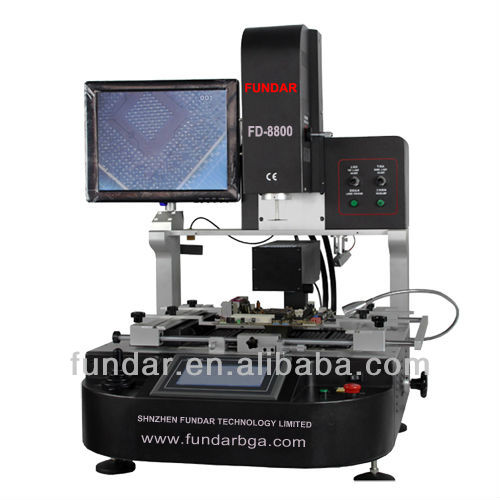 Advanced FUNDAR FD-8800 Touch screen Optical alignment automatic welding station for bga rework