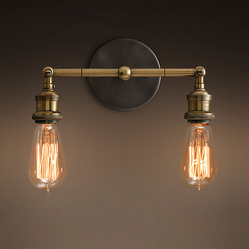 Vintage Wall Light RH Loft Wall Lamps for Home Decoration Restaurant/Dinning Room/Bed Room E27 110V-240V Bulbs Edison Lighting