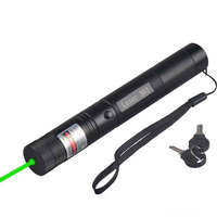High Power Rechargeable Red Blue Green Laser Pointer 303 50mW