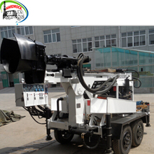 13Bar 160m 5T Diesel Engine Driven geothermal geotechnical gasoline water well borehole drilling rig machine