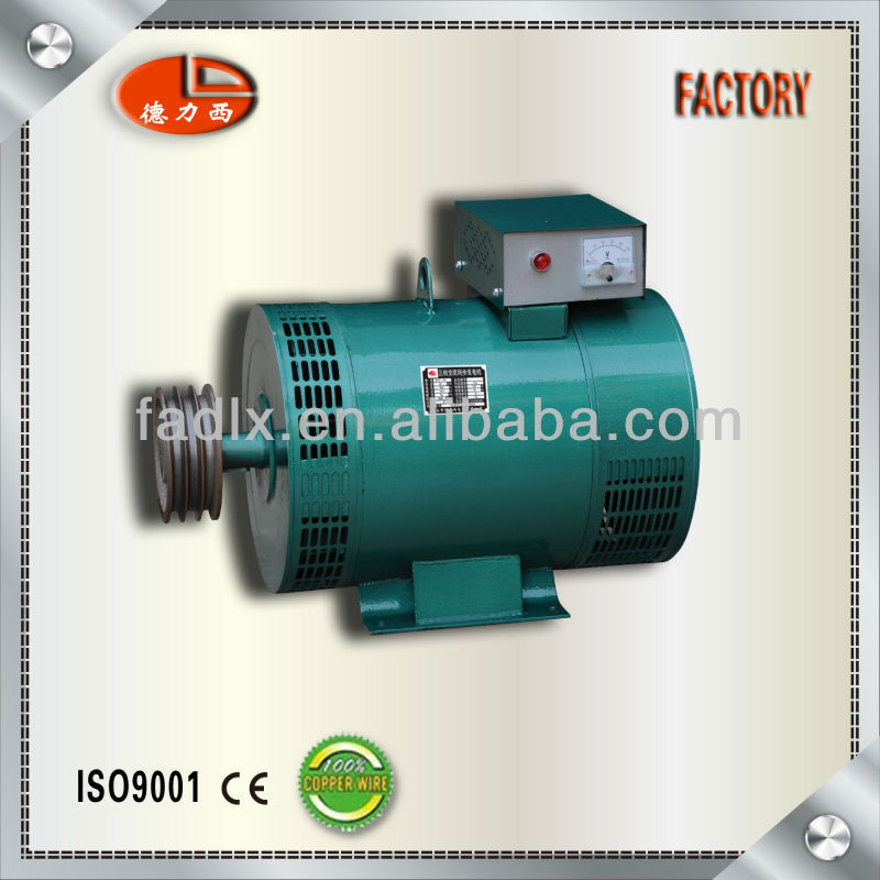 Delixi Factory 100% Copper Wire Three Phase AC Electric Generator