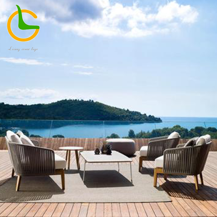 China imported high quality waterproof European style hand carved outdoor teak furniture