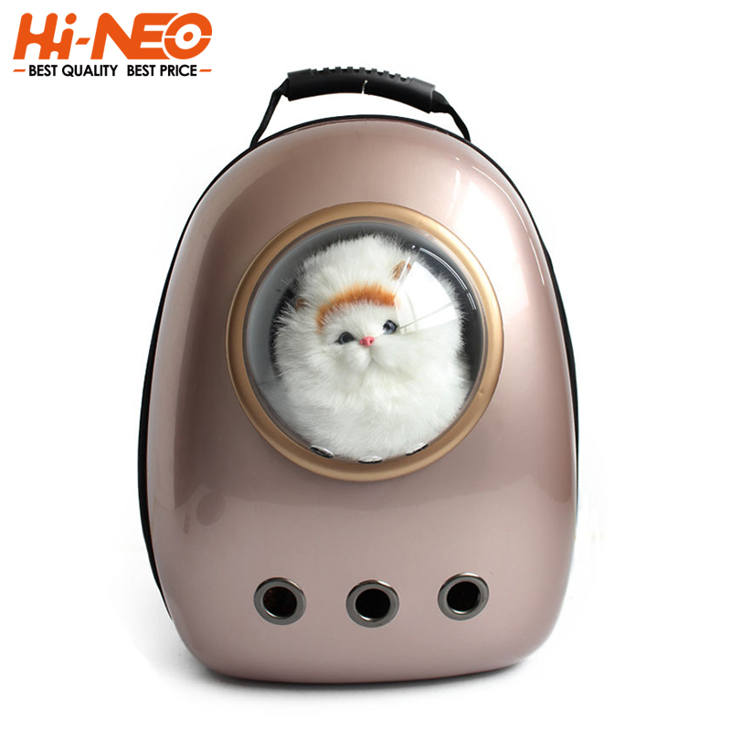 Space Capsule ABS Travel Carry Dog Carrier Bag Breathable Multi-function Backpack Pet