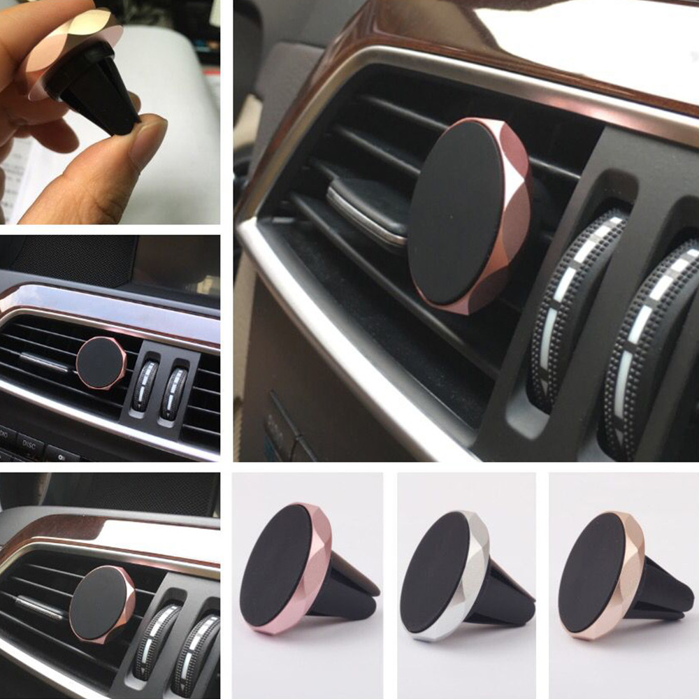 2019 Newest  Product Hot Selling Smartphone Holder  magnetic power air vent magnetic car mount mobile phone holder