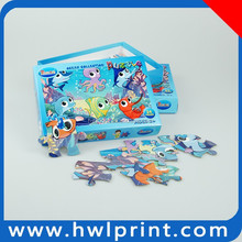 24 pcs jigsaw puzzles for kids made in china