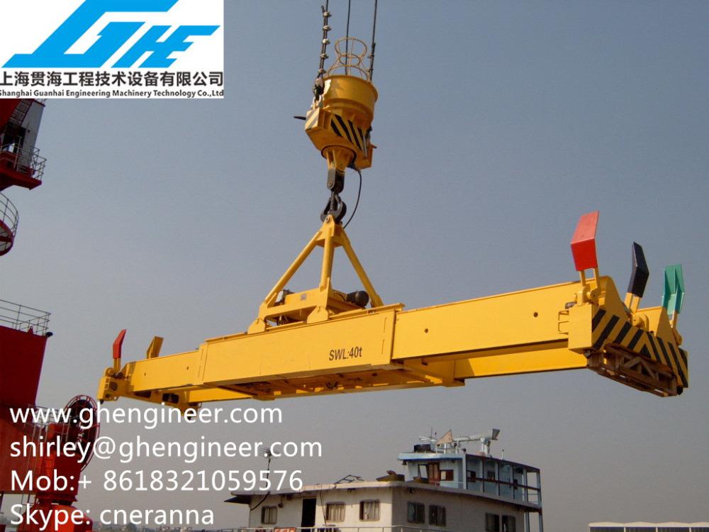 Sts Crane Hydraulic Telescopic Container Spreader