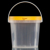 1 to 2l tear strip lid round plastic pail for food