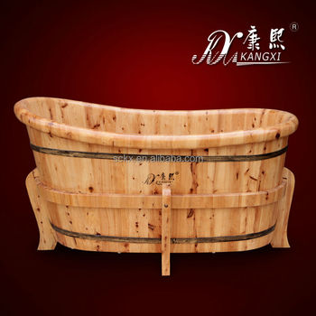 Traditional Chinese Style Bath Tub Wooden Bathtub Outlet