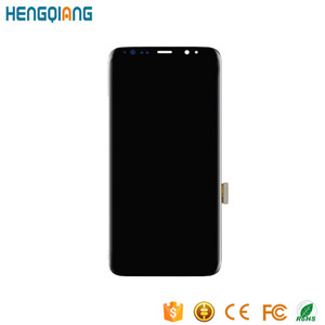 Mobile phone lcd display for samsung galaxy s8 parts screen