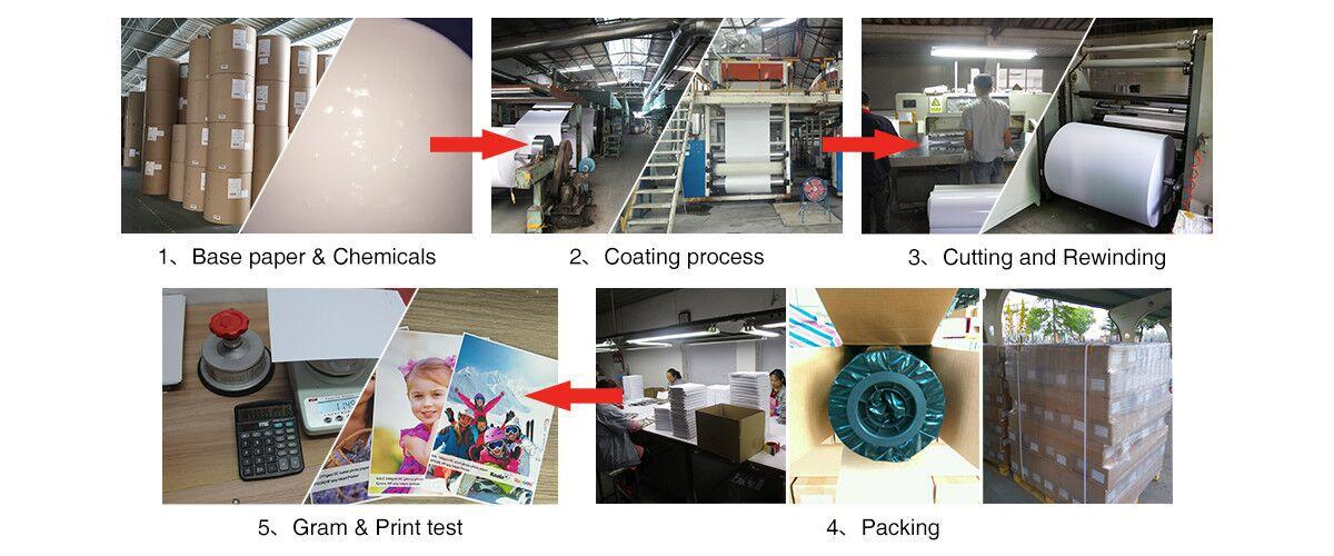 Hochwertiges Koala Inkjet-Papier, Inkjet Wasserdichtes Hochglanz-Fotopapier A4