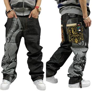 7f9a1f33800d6 De Los Hombres De Gran Tamaño De Hip Hop Pantalones Vaqueros - Buy ...