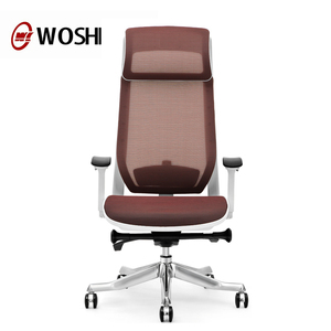 Wholesale office chair colourful full mesh swivel red chairs task chair with headrest