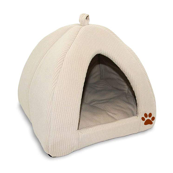 Best Pet Supplies Pet Cave/Tent Bed for Dogs and Cats with customized printing