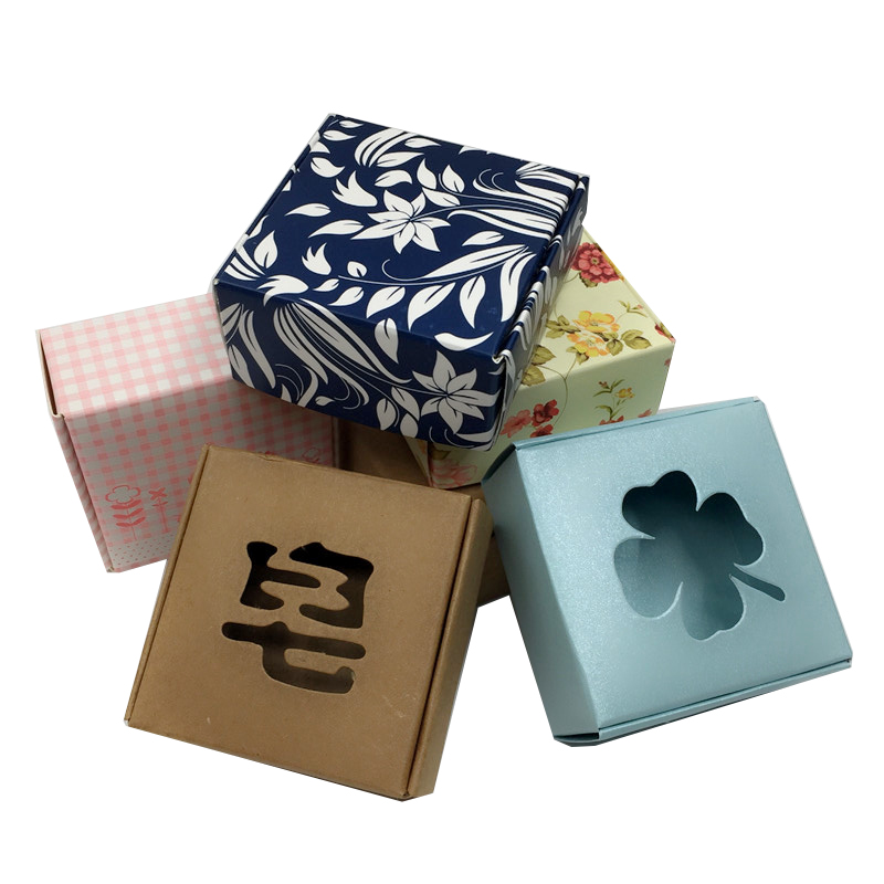 Empty Packaging Box Soap Cosmetic Packaging Boxes Cosmetic Paper Box