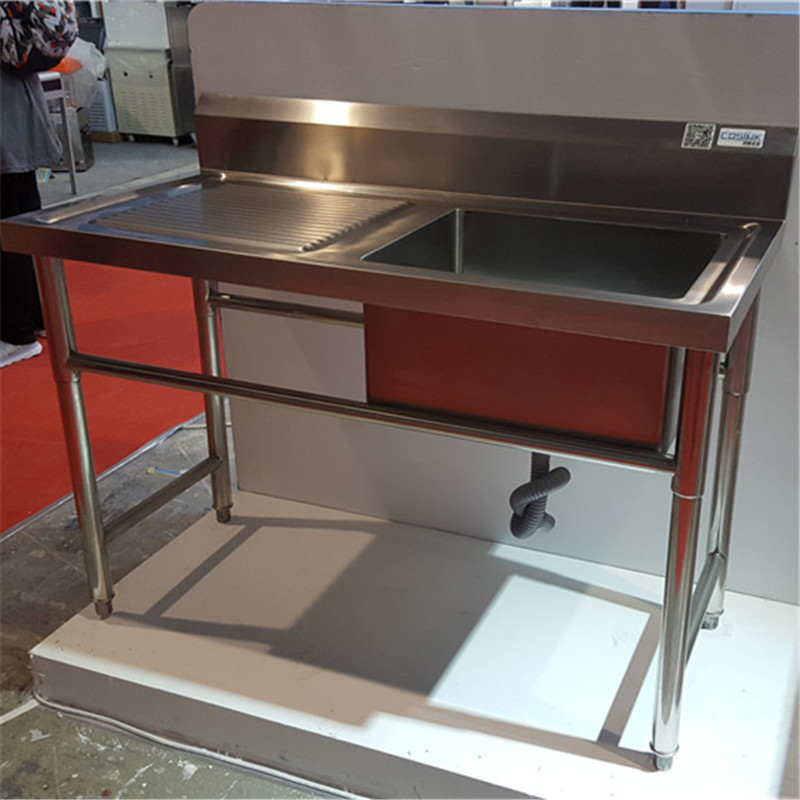 Commercial Kitchen Hot Sale 300mm Deep Bowl Stainless Steel Kitchen Sink  Floor Stand - Buy 300mm Deep Kitchen Sink,Commercial Kitchen Sink,300mm  Deep ...
