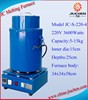 1-4kg Induction Aluminium Scrap Melting Furnace