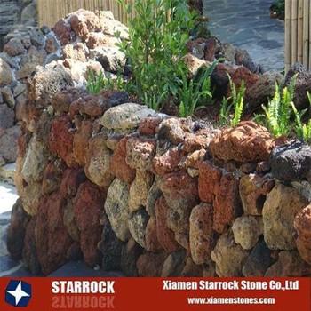 pietra vulcanica giardino