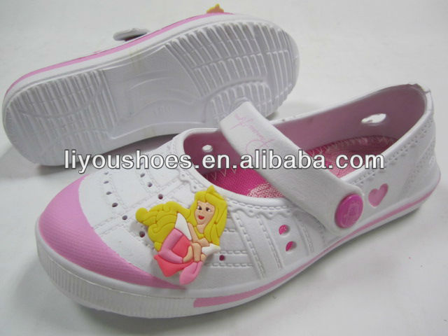 2013 low price eva stocked shoes slippers plastic sandals clogs from jinjiang